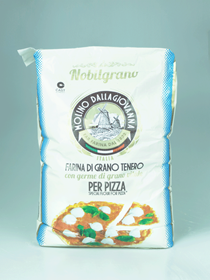 Immagine di FARINA DALLAGIOVANNA NOBILGRANO 0-N PIZZA BLU GERME KG 25