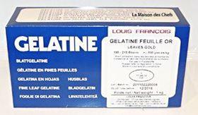 Picture of GELATINA IN FOGLI ORO LOUIS FRANCOIS KG.1