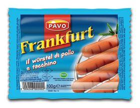 Picture of WURSTEL FRANKFURT POLLO E TACCHINO 100GR CT DA 35 CF
