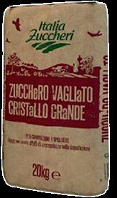 Immagine di ZUCCHERO VAGLIATO CRISTALLO GRANDE ITALIA ZUCC KG20
