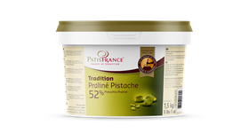 Immagine di PRALINE PISTACHES 52% PURATOS KG 1.5